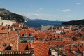 Aerial View of Dubrovnic Royalty Free Stock Photos