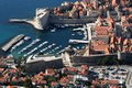 Aerial View of Dubrovnik Royalty Free Stock Photography