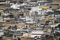 Aerial view of Fes Royalty Free Stock Photo