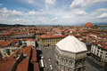 Aerial view of florence, Italy Royalty Free Stock Images