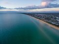 Aerial view of Frankston Coastline Royalty Free Stock Photo