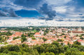Aerial view from Gediminas tower Royalty Free Stock Photo