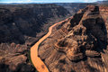 Aerial view of the Grand Canyon Royalty Free Stock Photo