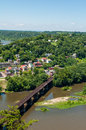 Aerial View Of Harpers Ferry, ...
