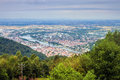 Aerial view of heidelberg germany Stock Photography