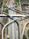 Aerial View of Highway Royalty Free Stock Photo