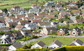 Aerial View Houses, Housing Estate, Development Royalty Free Stock Photo