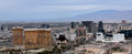 Aerial view of las vegas strip the Royalty Free Stock Photography