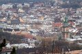 Aerial view of Lviv Royalty Free Stock Image