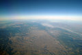 Aerial view mountains , Royalty Free Stock Image