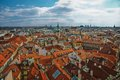 Aerial view of munich the old town Royalty Free Stock Images