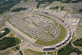 Aerial View NASCAR Lifelock 400 Royalty Free Stock Photo