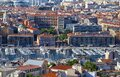 Aerial view on old port in Marseille, France Royalty Free Stock Photo