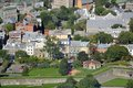 Old Quebec City aerial view, Canada Royalty Free Stock Photo