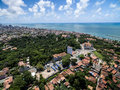 Aerial view of Olinda in Pernambuco State, Brazil Royalty Free Stock Photo