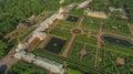 Aerial view of Peterhof Palace, St. Petersburg Royalty Free Stock Photo