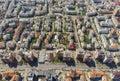 Aerial view of Piatra Neamt city