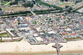 Aerial view of Pismo Beach, CA Royalty Free Stock Photo