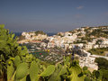 Aerial View from Ponza, Italy Royalty Free Stock Photography