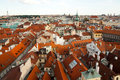 Aerial view of Prague, Czech Republic Stock Photos