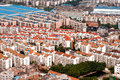 Aerial view of residential area areas in a chinese new town Royalty Free Stock Images