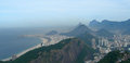 Aerial view of rio de janeiro brazil panorama photographed from the sugar loaf south america Stock Image