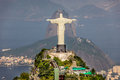 Aerial view of rio de janerio from helicopter Royalty Free Stock Images