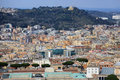 Aerial view of Rome Royalty Free Stock Photo