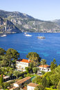 Aerial view of saint jean cap ferrat south france Stock Images