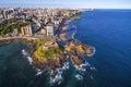 Aerial View of Salvador da Bahia, Brazil Royalty Free Stock Photo