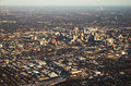 Aerial view of san antonio downtown Royalty Free Stock Images