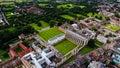 Aerial View Stock Photo Of Cambridge University UK Royalty Free Stock Photo