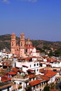 Aerial view of Taxco Royalty Free Stock Photography