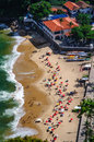 Aerial view of Urca beach Stock Photo