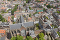 Aerial view of Utrecht, Netherlands Royalty Free Stock Photography