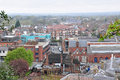 Aerial view of Windsor city, UK Royalty Free Stock Photo