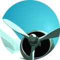 Aero plane's Propeller