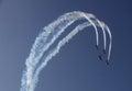 Aerobatic Royalty Free Stock Photo