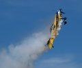 Aerobatic Plane Stock Photo