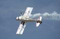 Aerobatics plane Royalty Free Stock Photo