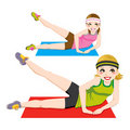 Aerobic Exercise Stock Image