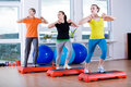 Aerobics Royalty Free Stock Photography
