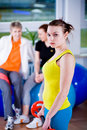 Aerobics Royalty Free Stock Photos