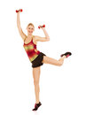 Aerobics exercises Stock Photography