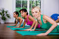 Aerobics girls Royalty Free Stock Photo
