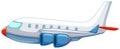 Aeroplane illustration of a close up Royalty Free Stock Photos