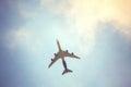 Image : Aeroplane upon the sky