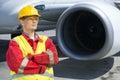 Aerospace engineer Royalty Free Stock Photo