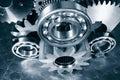 Aerospace titanium gears and parts