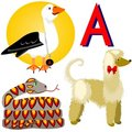 A, afghan, albatross, anaconda Royalty Free Stock Photo